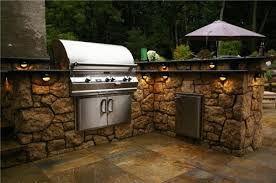 gallery outdoor kitchen lighting: view and save images small medium large gallery credit image prefab outdoor kitchen