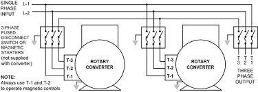 phase a matic inc rotary phase converter installation instructions rotary converters banked together in parallel for combined output of horsepower for 220v and 440v applications