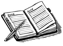 Image result for school cartoon agenda books
