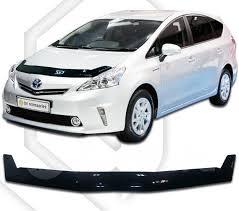 <b>Дефлектор капота</b> Toyota Prius a 40 (2011–2014 ) <b>Classic</b> ...