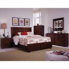 avalon cal king bedroom espresso brown contemporary  piece cal king bedroom set diego
