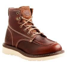 Men's <b>Dickies</b>® Trader Genuine Leather Work Boots - Red Oak 11 ...