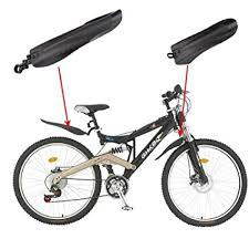 DierCosy Black Bicycle Road <b>Tyre Tire Front Rear Mudguard</b> ...