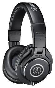 <b>Наушники Audio-Technica ATH-M40X</b>, черный купить по низкой ...