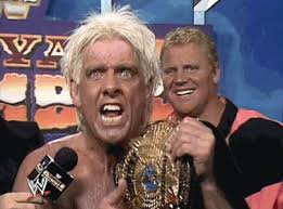 Image result for ric flair wwf champion