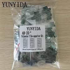 Online Shop 180pcs=18value*<b>10pcs Polyester film capacitor</b> ...