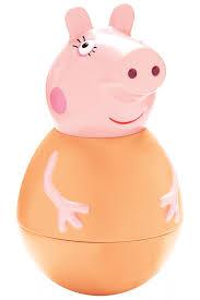 <b>Фигурка</b>-<b>неваляшка</b> Мама Свинка <b>Peppa Pig</b> арт 28797 ...