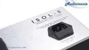 <b>Сетевой фильтр Isol</b>-<b>8</b> Powerline 1080 - YouTube