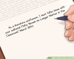 patriotexpressus marvelous letter from the president global patriotexpressus remarkable how to write letters to the editor pictures wikihow adorable image titled