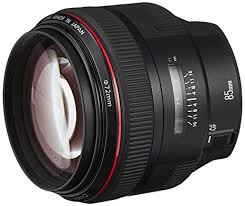 Buy <b>Canon EF 85mm</b> f1.2L II USM Lens for Canon DSLR Cameras ...