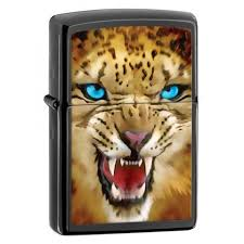 <b>Зажигалка ZIPPO Leopard</b> Ebony латунь/порошковое покрытие ...