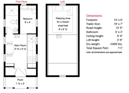 Tiny house plans  Tiny house and Floor space on Pinterest