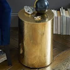 view in gallery brass side table from west elm brass furniture