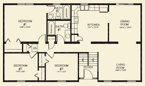 Bedroom Bathroom Ranch Floor Plans   Bedroom Design Ideas Bedroom Ranch Floor Plans House Bath