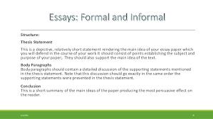 informal essay example  wwwgxartorg informal essay example
