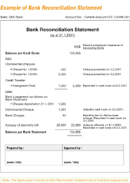 doc account reconciliation template checking account bank statement reconciliation form an introduction to