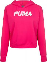 <b>Толстовка</b> женская Puma <b>Modern Sports</b> розовый цвет - купить за ...