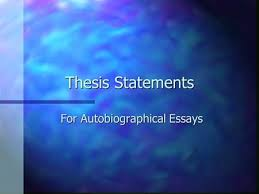copyright © concorde career colleges all rights reserved chapter  thesis statements for autobiographical essays some good examples n older siblings can help their younger