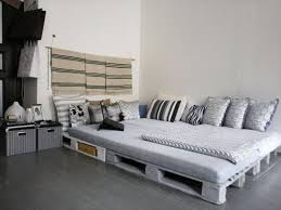 diy pallet furniture bedroom big bed build pallet furniture