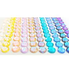 Swarovski® <b>Mixed Size</b>/Colour Glue On <b>Flatback</b> Packs – Glitz It