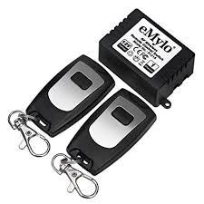 eMylo <b>RF DC 12V</b> 1 Channel One Relay Wireless Learning <b>Remote</b> ...