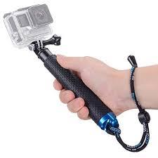 Vicdozia Extension Selfie Stick, <b>Portable</b> Hand Grip Waterproof ...