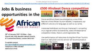 jobs business opportunities in the african tourism market afrobeat dance competition