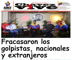 Resultado de imagem para fotos dos golpistas na venezuela