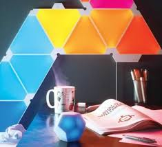 <b>Nanoleaf Remote</b> is enough to control your entire space without ...