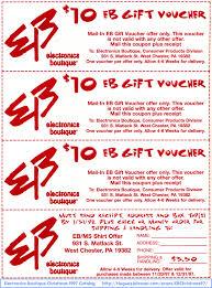 com electronics boutique christmas catalog 10 coupons front