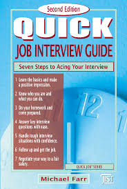 quick job interview guide second edition jist career solutions click on image to zoom