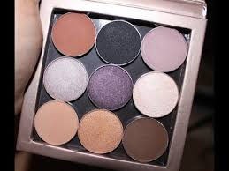 makeup geek z palette swatches review