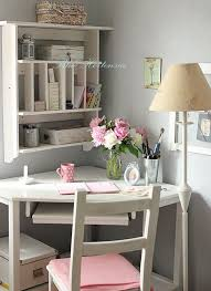 blue hortensia i look at this and feel this sense of right like my tiny sanctuary in the middle of my home love the muted tones with little pops of pink bedroom small home office