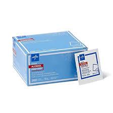 Medline - MDS090735Z Sterile Medium Prep <b>Pads</b> 70% <b>Isopropyl</b>
