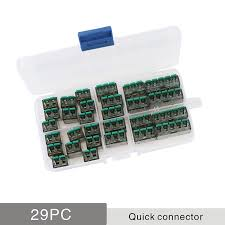 Big Sale #aaaf - Wire Connector 29/50/100 Pieces <b>Mini</b> Quick ...
