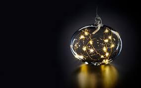 <b>Шар на елку</b> с подсветкой Krinner Lumix Золотой