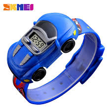 <b>SKMEI Kids Watch Boys</b> Fashion Cute <b>Gift</b> Child Cartoon Car ...