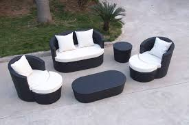 diy black wicker sectional patio furniture black and white patio furniture