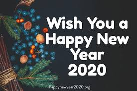 Happy New Year 2020 » Images, GIFs, Messages, Wallpaper, Quotes