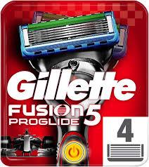 4 сменных <b>кассеты</b> для бритвы GILLETTE Fusion ProGlide Power ...