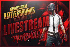 <b>PUBG</b> Live Stream Thumbnail in 2020 | Youtube design, Graphic ...