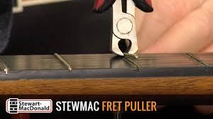 StewMac <b>Fret Puller</b> Demo - YouTube