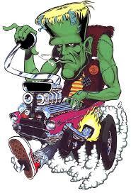 <b>Frankenstein Hot</b> Rod Cartooning - Classic Artwork!   Classic ...