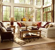 barn living room ideas decorate: pottery barn traditional living room pottery barn