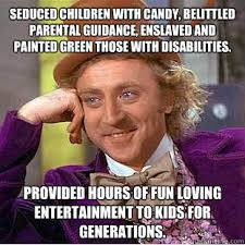 Creepy Wonka memes | quickmeme via Relatably.com