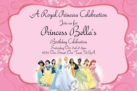 create princess birthday party invitations templates invitations princess birthday invitations online