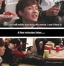 lay#dimple <3. Sooo cute this part, but he did wake up to share a ... via Relatably.com