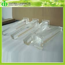 ddh l001 trade assurance acrylic bench leg acrylic furniture legs acrylic legs for acrylic legs for furniture