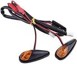 <b>Motorcycle</b> Flush Mount LED Turn Signal Light, <b>2 pcs</b>/<b>pair Universal</b> ...