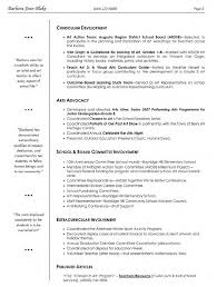 Examples Of Artist Resumes Resume For Your Job Application